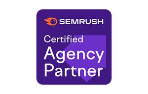 Semrush Agency Partner Badge
