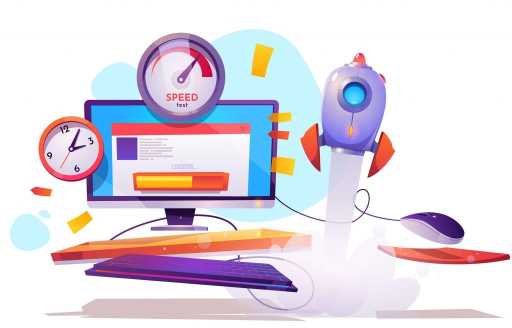 velocidad de carga para sitio web